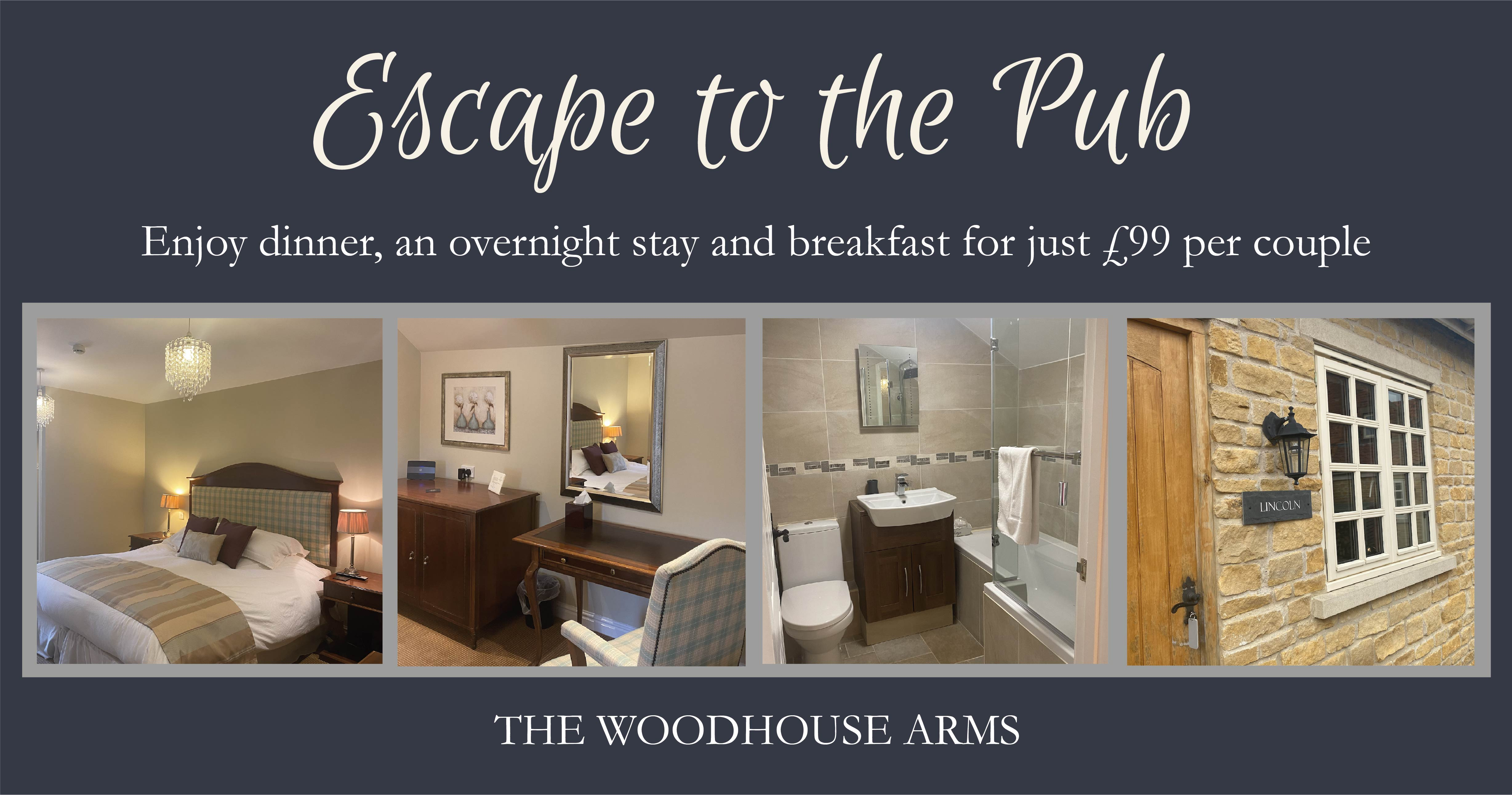 Escape To The Woodhouse Arms
